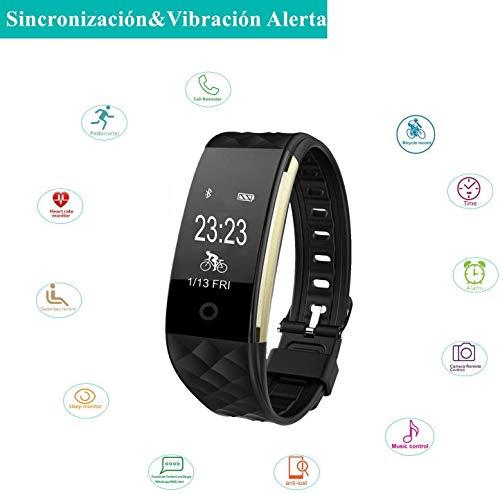 Willful Smartwatch Orologio Fitness Tracker Uomo Donna Cardiofrequenzimetro da Polso Contapassi Calorie Sonno Orologio Sportivo Impermeabile IP67 Smartband per Android iOS