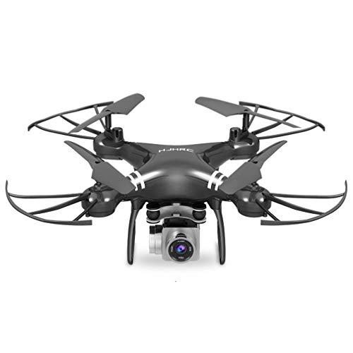 HehiFRlark - Drone aéreo de cuatro ejes Hj14W Hj14Q con mando a distancia para avión HD, 720P, color negro