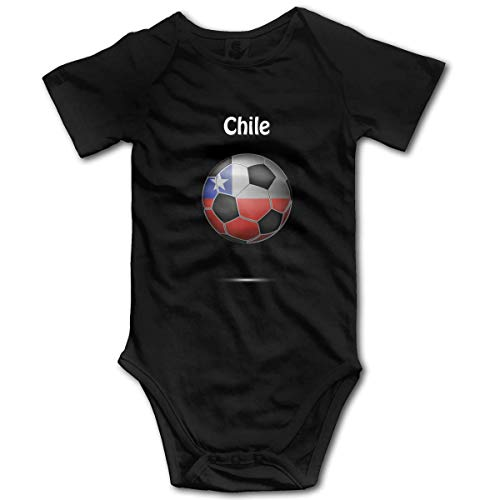 Bandera de Chile, fútbol, bebé, niño, Manga Corta, Monos, Chaleco, Ropa, Mameluco, Traje