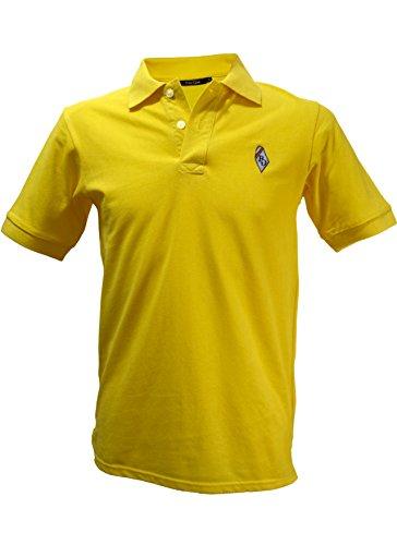 Posh Gear Polo pour Homme, Jaune, Taille L