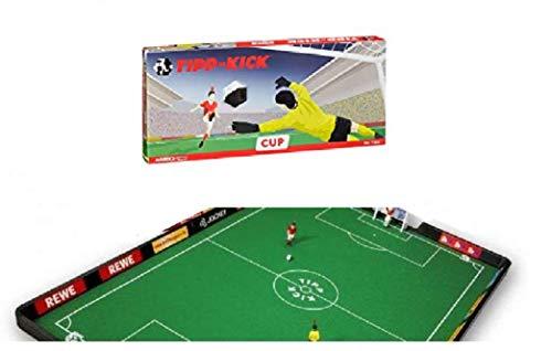 Bavaria Home Style Collection Tippkick Tischfußball XXL Tischkicker Spielfeld Fussball Spieleset Spiel mit dem großen Spielfeld und den Netztoren und 5 Ersatzbälle