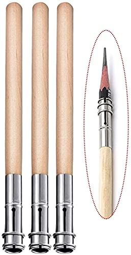 Extensiones de lápiz para material escolar de oficina Extensión de lápiz de arte