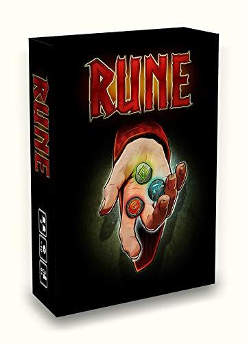 LITTLE ROCKET GAMES-Rune-Un Gioco di Carte per Due Giocatori, Adatto a Tutti - Edizione in Italiano e Inglese…