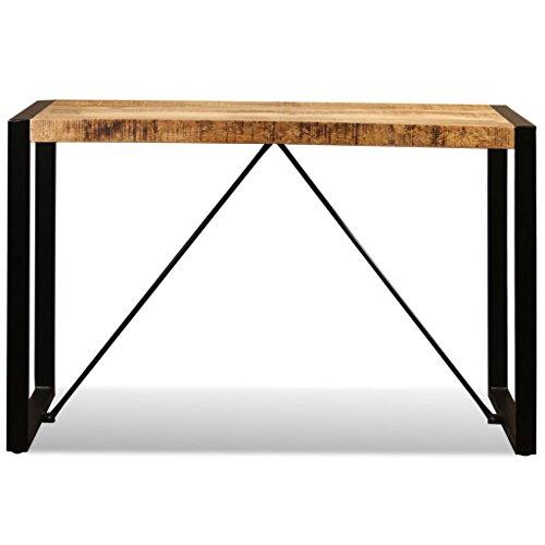 Festnight Dining Table Solid Mango Wood/Reclaimed Wood/Rough Mango Wood 240 cm/180cm/120cm