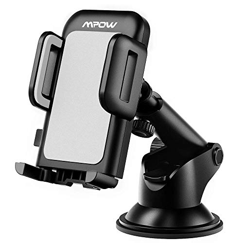 CA032 CA032 Soporte de teléfono de automóviles Ajustable Tablero Ajustable Montaje Smartphone con padrastra Sticky y rotación de 360 Grados (Color : Gray)