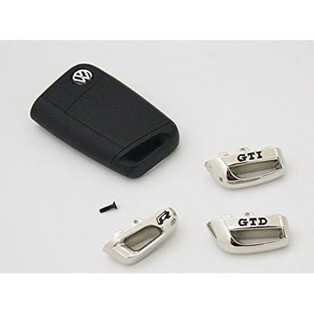 Kappe Für Schlüssel Gtd Gti R Original Vw Chrom Schwarz Kappe Autoschlüssel Gti Auto