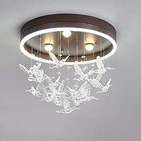 家の装飾ダイニングルームのモダンなLEDシャンデリア寝室の研究室子供部屋ピンク/白/茶色のシャンデリア照明Lustres