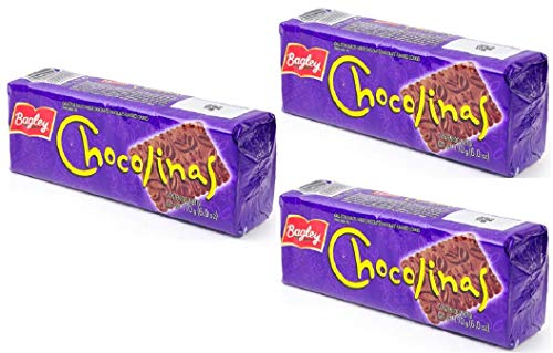 Chocolinas Galletas De Chocolate 3 Pack - (510g) Special for Choco Cake