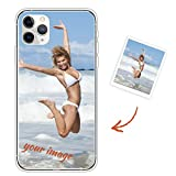 SEYYOIU Cover Compatible with Samsung Galaxy S20 Ultra Personalised Made TPU case Bumper Silicone Slim Personalize with Image Text Picture Design Customised Gift for for Boys Girls