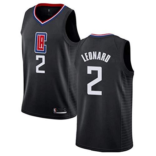 LQsy NBA Fans Jerseys 19-20 Season, Clippers # 2 Leonard Fans Jersey Uniformes De Baloncesto, Adecuado para Fanáticos Adultos