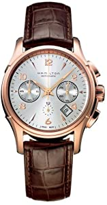 Hamilton Jazzmaster Automatic Chronograph Rose Gold-tone Mens Watch H32646555 image