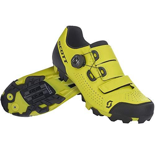 Scott MTB Team Boa Fahrrad Schuhe gelb/schwarz 2022: Größe: 41