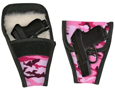 Ace Case Concealed Carry Removable Purse Holster (Pink Camo)