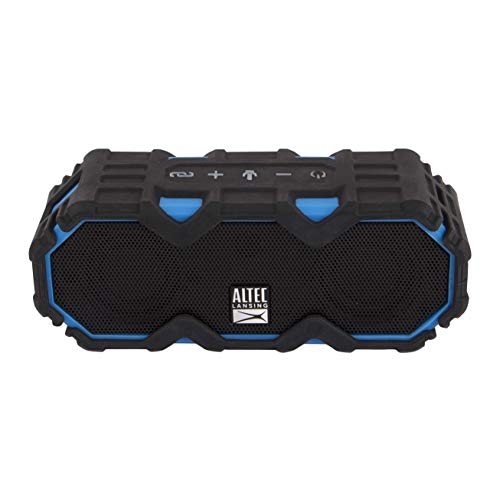 Altec Lansing Mini Life Jacket - Bluetooth Speaker, Wireless Speaker, Waterproof, Floating, Portable, Loud Bass, Rich Stereo System, USB Charger, Microphone, 16 Hour, 100 ft Wireless Range, IP67, Blue