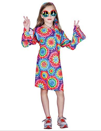PARTY FIESTA Disfraz Hippie (5-6 Años)