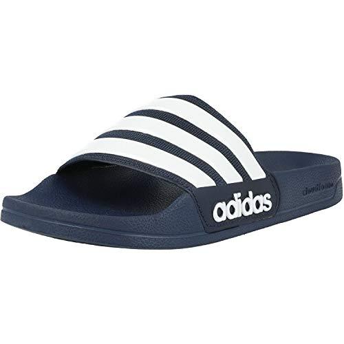 adidas Herren Cf Adilette Dusch-& Badeschuhe, Blau (Collegiate Navy/footwear White/collegiate Navy 0), 38 EU