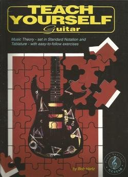 Sheet music Teach Yourself Guitar by Bob Hartz, Karamar Book