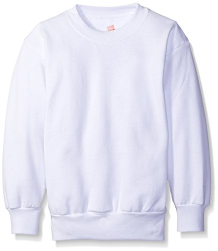 Hanes Comfort Blend Youth Crew White,XS