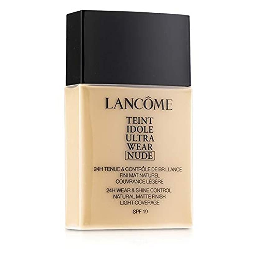 鼻タバコスペードランコム Teint Idole Ultra Wear Nude Foundation SPF19 - # 01 Beige Albatre 40ml/1.3oz並行輸入品