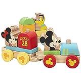 WOOMAX - Tren madera juguete Formas encajables Juguetes niños 2 años Juguetes bebe 18 meses - Juguetes educativos para niños Preescolar Infantil - Tren juguete madera