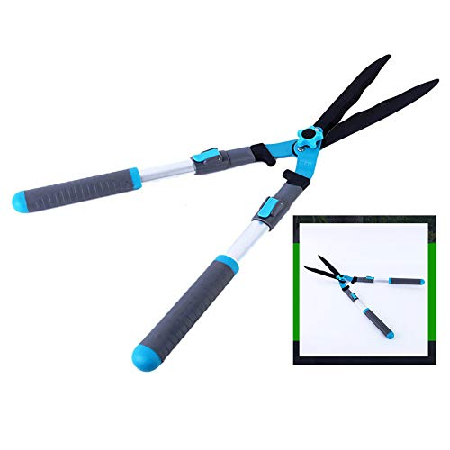 Buy Discount XPKZYSLJ-J Telescopic Hedge Shear Extendable Manual Hedge Clippers with Wavy Blade and ...