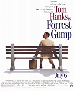 Pop Culture Graphics Forrest Gump (1994) - 11 x 17 - Style A