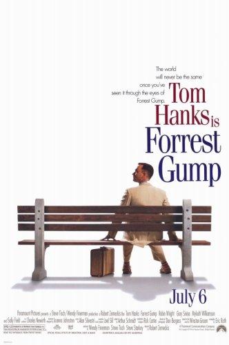 Pop Culture Graphics Forrest Gump (1994), 11 x 17 cm, Stil A