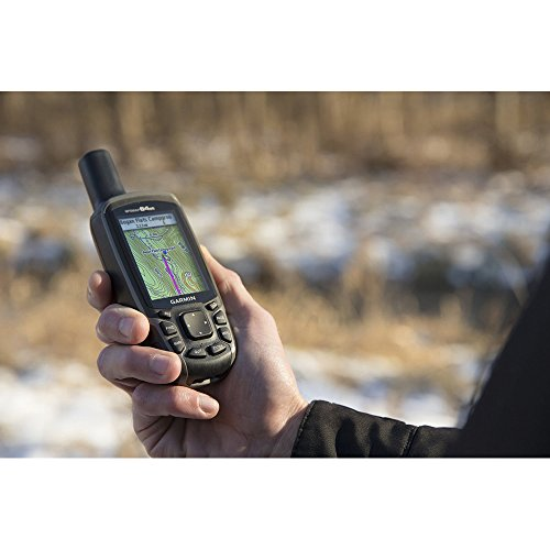 Garmin GPSMAP 64st Worldwide Handheld GPS with 1 Yr. Birdseye Subscription and Preloaded TOPO U.S. 100K Maps + 1-Year Extended Warranty Bundle