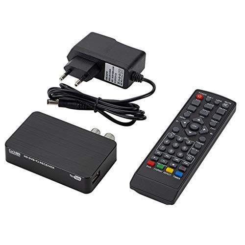 DVBT Receiver -Aisumi-Mini K2 TV-Empfänger DVB-T2 DVB-T H.264 FHD Terrestrischer Digitaldecoder TV-Tuner Set-Top-Box Für Monitorunterstützung PVR Wifi-Antenne