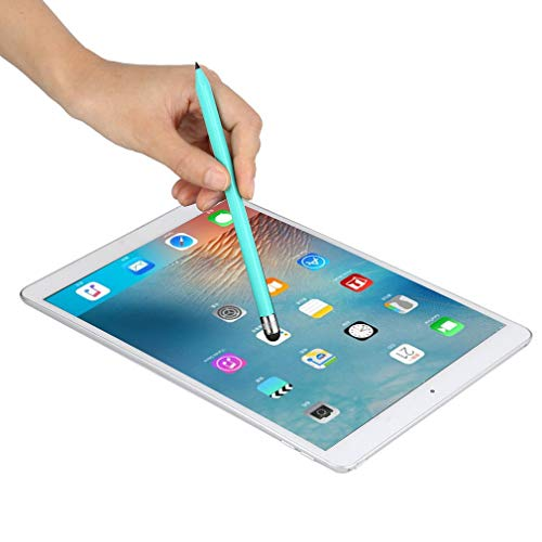 YLWL Universeller kapazitiver Kunststoffstift Kristall-Touchscreen-Stift Kugelschreiber grün