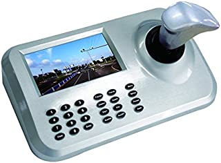 CCTV Joystick Keyboard Controller ONVIF 5'' LCD Display for PTZ Speed Dome IP Camera Control 3D Joystick Controller