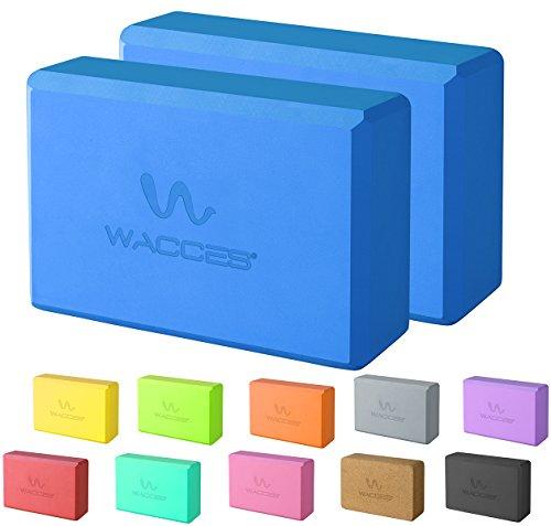 Wacces Foam Exercise, Fitness & Yoga Blocks - Set of 2