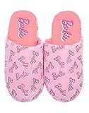 Barbie All Over Print Girl's Pink Slipper