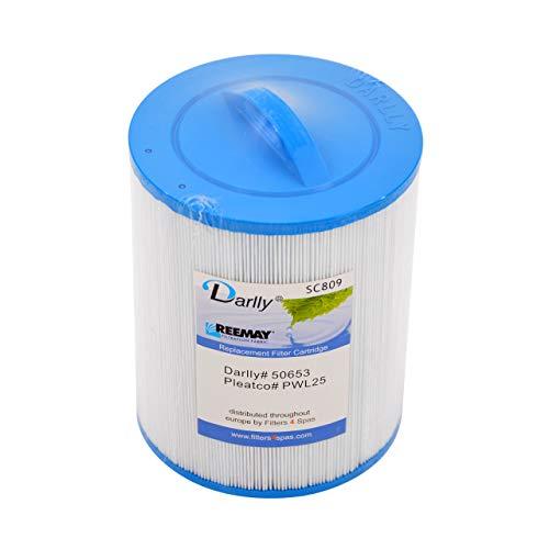 Darlly® Filter Ersatzfilter SC809 Lamellenfilter für Wellis Whirlpool