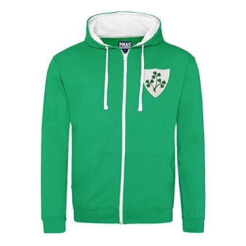 Sweat à capuche zippé irlandais pour homme - - Medium