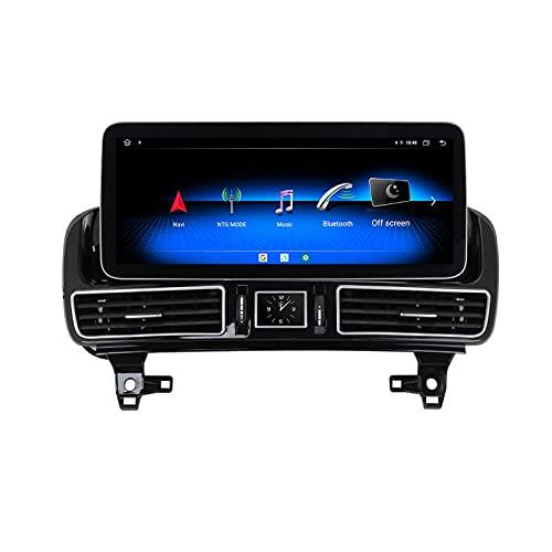 YCJB Android 10.0 Coche Estéreo para Mercedes-Benz W167 GLE/GLS 2016-2018 NTG5.0 GPS Navigation 2 DIN Radio 12.3 '' Player Multimedia Video Receptor Tracker con 4G WiFi SWC DSP Carplay,8core 6+128gb