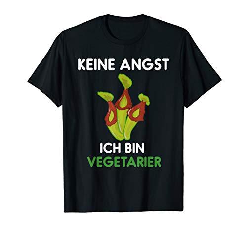 Ich bin Vegetarier - Fleischfressende Pflanze Nepenthes T-Shirt