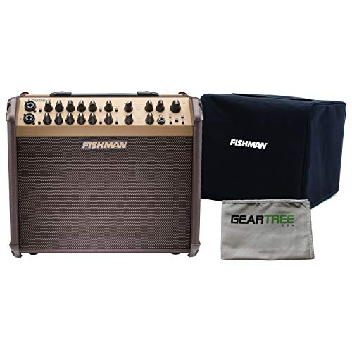 Fishman PRO-LBT-600 Loudbox Artist Bluetooth Acoustic Amp w/Slip Cover and Gear