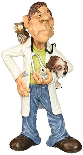 This figurine would be cute for graduating veterinarians to decorate their office with.