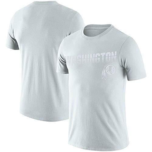 ZEH Camiseta de fútbol NFL100 sideline platino aniversario conmemorativo rendimiento camiseta (color: M, tamaño: M) FACAI