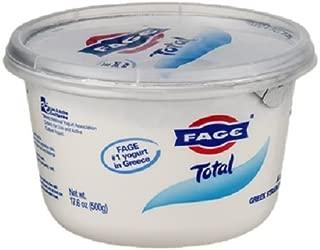 Fage Total Greek Greek Yogurt, 17.6 Ounce (Pack of 6)