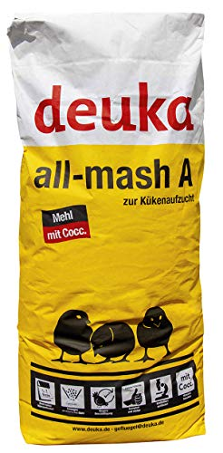 deuka All-mash A Mehl mit Cocc 25 kg Kükenfutter Kükenaufzuchtfutter
