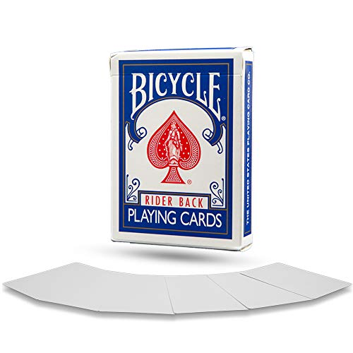 Fahrrad Doppel leer Magic Spielkarten Bicycle Double Blank Magic Playing Cards
