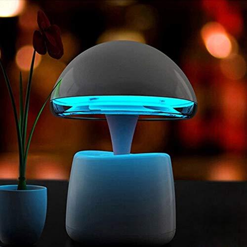 N/C Lampada da Scrivania A LED Multifunzione Smart Bluetooth Speaker Night Light Lampada Alashan Smart Bluetooth Speaker Speaker personalità Sveglia Creativa,Blue