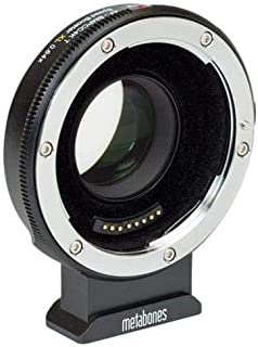 Metabones T Speed Booster XL 0.64x Adapter for Canon EF Lens to BMPCC4K Camera