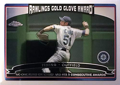 2006 Topps Chrome Gold Glove Award #260 Ichiro Suzuki