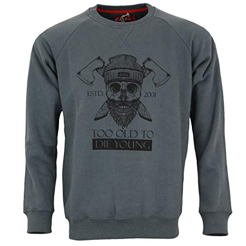 derbe Hamburg Sweatshirt TODTY anthrazit - XXL