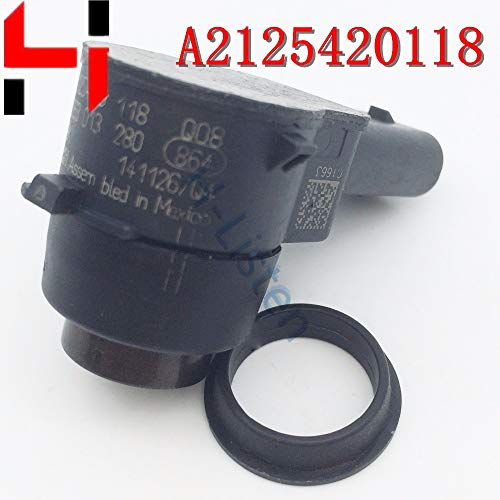 Cheapest Price! Red : (10pcs) Parking PDC Sensor A2125420118 2125420118 Reversing Radar for A B C E ...