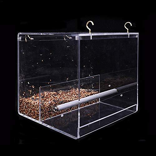 Traditionnel oiseaux station d/'alimentation avec 3 Suspension Crochets Et 2 plateaux
