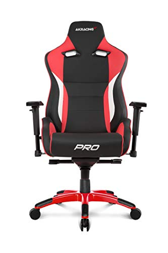 AKRACING Silla Gaming Masters Series Pro Rojo
